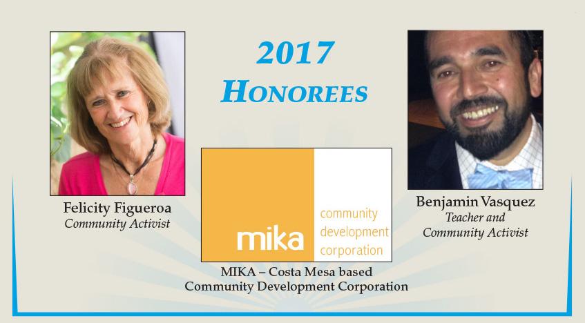 Beacon of Light Celebration 2017 honorees